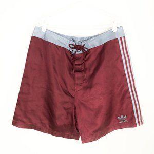 Adidas Men's XL Cool Retro Athletic Striped Shorts